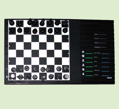 CXG Addex Stratege Design (1992) Electronic Chess Computer