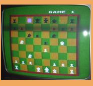 Atari 800XL Atari Chess (1986) Chess board Screen Shot