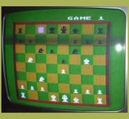 Atari 800XL Computer Chess (1979) Chess Board Screenshot