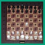 Chafitz Boris Diplomat (1979) Brown Version Peg Game Board