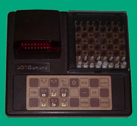 Chafitz Boris Diplomat (1979) Brown Version Electronic Travel Chess Computer