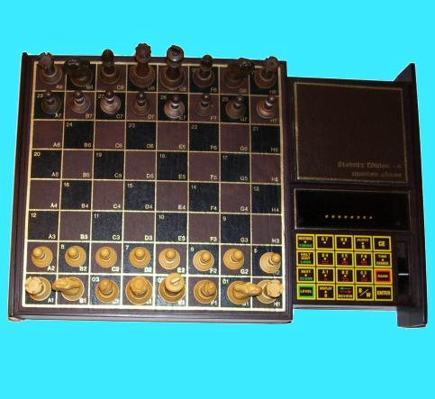 Chafitz Destiny Mega-4 GGM Great Game Machine (1981) Electronic Chess Computer
