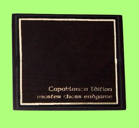 Chafitz Capablanca Chess Endgame Module (1981) Suitable for Chaftz MGS Modular Game System and GGM Great Game Machine Chess Computers