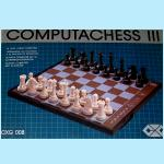 CXG Computachess III (1985) Box