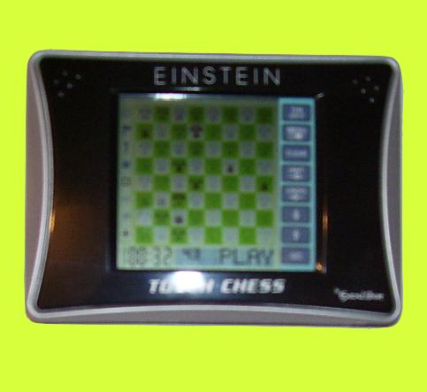 Excalibur Model ET404 EinsteinTouch Chess (2008) Electronic Travel Chess Computer