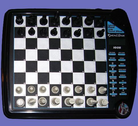 Excalibur Model 711E Igor (1997) Electronic Chess Computer