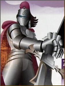 Excalibur Knight picture taken from a box.