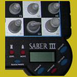 Saber III (1997) Push Button Controls