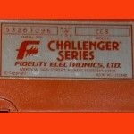 Fidelity Model CC8 The Classic (1985) Computer Label