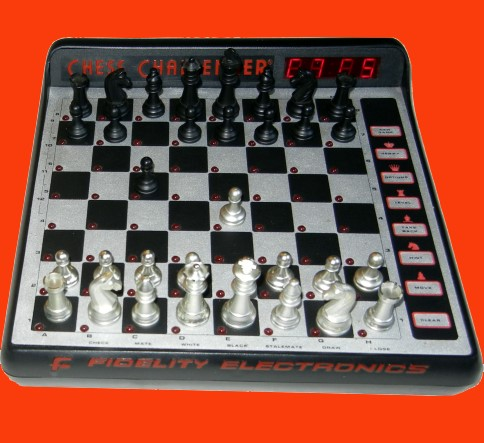 Fidelity Model 6097 Excel 68000 Mach II - B Version (1987) Electronic Chess Computer