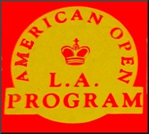 FIDELITY EXCEL 68000 MACH II AMERICAN OPEN L. A.  PROGRAM -  picture taken from box.