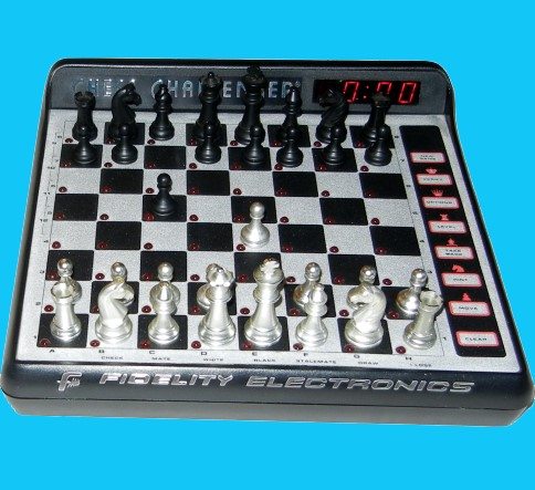 Fidelity Model 6098 Excel Mach III Master (1988) Electronic Chess Computer