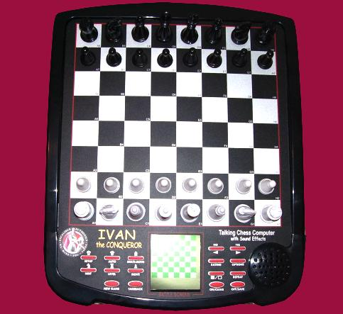 Excalibur Model 712 Ivan II The Conqueror (2002) Electronic Chess Computer