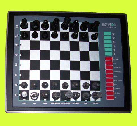 Krypton Model 5T-932 Jupiter (1995) Electronic Chess Computer