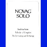 Novag Model 873 Solo (1987) User Manual