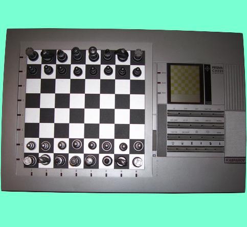 Saitek Kasparov Model 281 Prisma (1990) Electronic Chess Computer