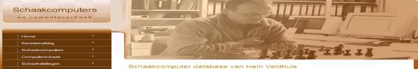 Schaakcomputer Database van Hein Veldhuis