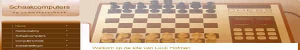 Schaakcomputer Database van Luk Hofman