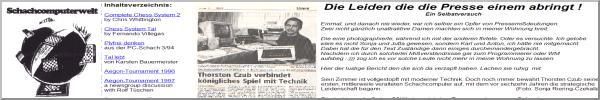 Schachcomputerwelt Website