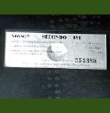 Novag Model 891 Secondo (1989) Computer Label