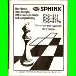 CXG Sphinx Seville (1992) User Manual