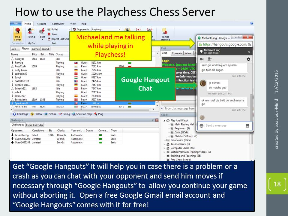 Hiarcs Chess Forums View Topic Use Google Hangouts As Backup
